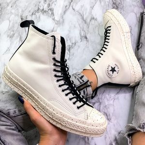 Converse Chuck Taylor All Star Mid White Sneaker
